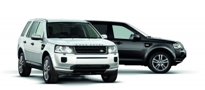 Встречаем Land Rover Freelander 2 Black и White Edition 2013