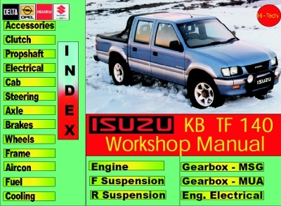 Isuzu SUV & Pickup: Workshop Manual (1993-2011)