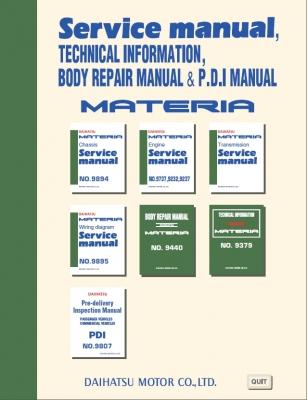 Daihatsu Charade G102 Service Manual