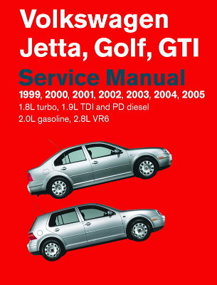 Volkswagen Golf, Jetta, GTI Service Manual (1999-2005)
