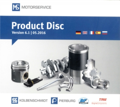 MS Product Disc 6.1 05/2016 (Motor Service International GmbH)